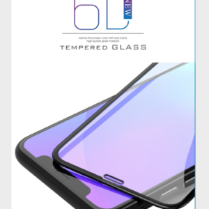 iPhone 7 PLUS/8 PLUS  6D TEMPERED GLASS – ZWART