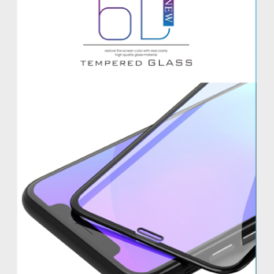 iPhone X/XS/ 6D TEMPERED GLASS