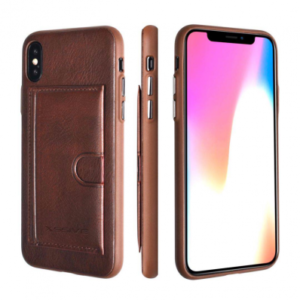 iPhone X/XS PREMIUM CARD BAG Case- BRUIN