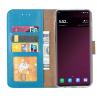 SAMSUNG GALAXY S10 PLUS BOOK CASE – TURQUOISE