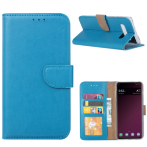 SAMSUNG GALAXY S10 BOOK CASE – TURQUOISE