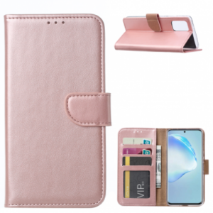 SAMSUNG GALAXY S11/S20 PLUS (6.7 INCH) BOOK CASE – ROSE GOUD