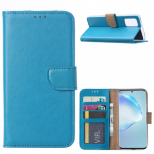 SAMSUNG GALAXY S11/S20 PLUS (6.7 INCH)  BOOK CASE – TURQUOISE