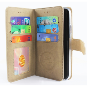 SAMSUNG GALAXY S10 PLUS WALLET CASE WITH 6 CARDS SLOT – TAUPE