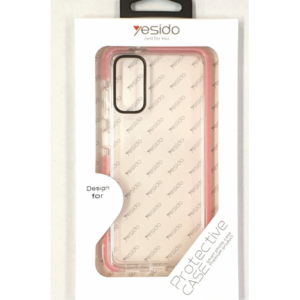 iPhone 11 PRO (5.8) YESIDO TPU BACK COVER – CLEAR MET ROZE RAND