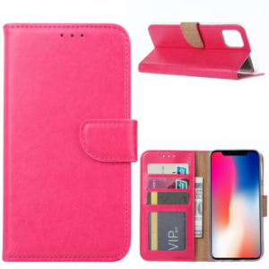 iPhone 11 PRO (5.8) BOOK CASE – PINK