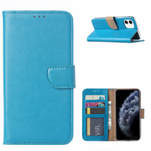 iPhone 11 PRO (5.8) BOOK CASE – TURQUOISE