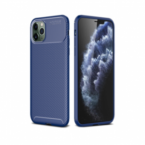 iPhone 12  XSSIVE CARBON BACK COVER – BLAUW